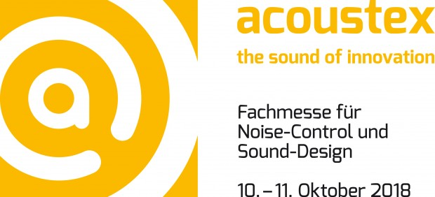 Fachmesse acoustex 2018 in Dortmund