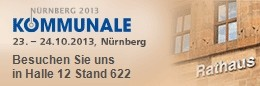 KOMMUNALE 2013 | Exhibition and Congress for municipal needs